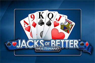 Jacks or Better Multimano