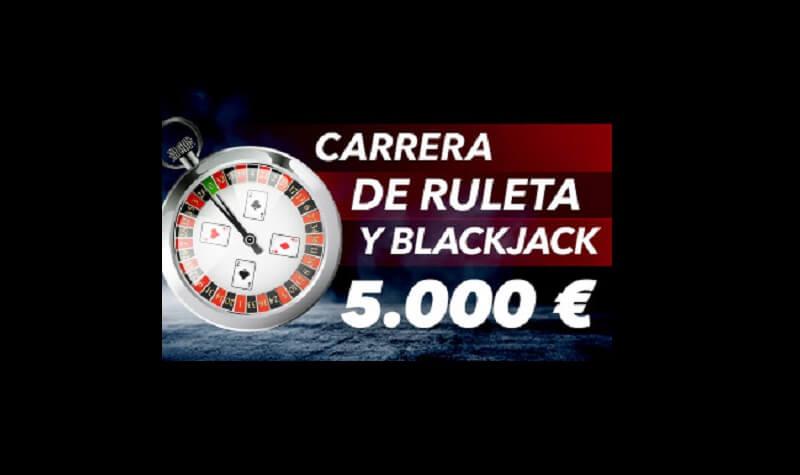 carrera ruleta blackjack sportium