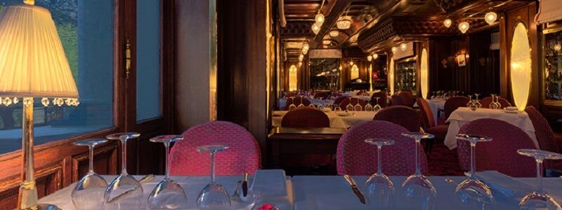 le trein bleu casino restaurante