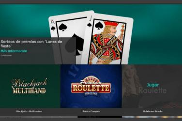 Los juegos de casino de Bet365