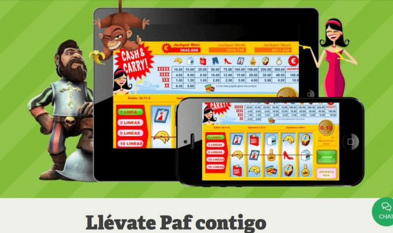 paf app casino