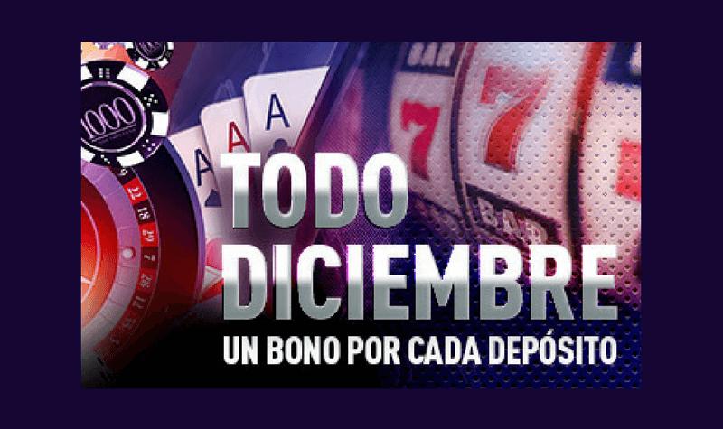 sportium bono deposito diciembre