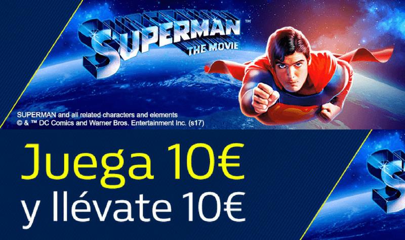 superman the movie william hill slot