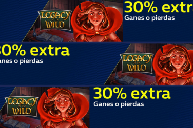 30% más ganes o pierdas con Legacy of the Wild en William Hill