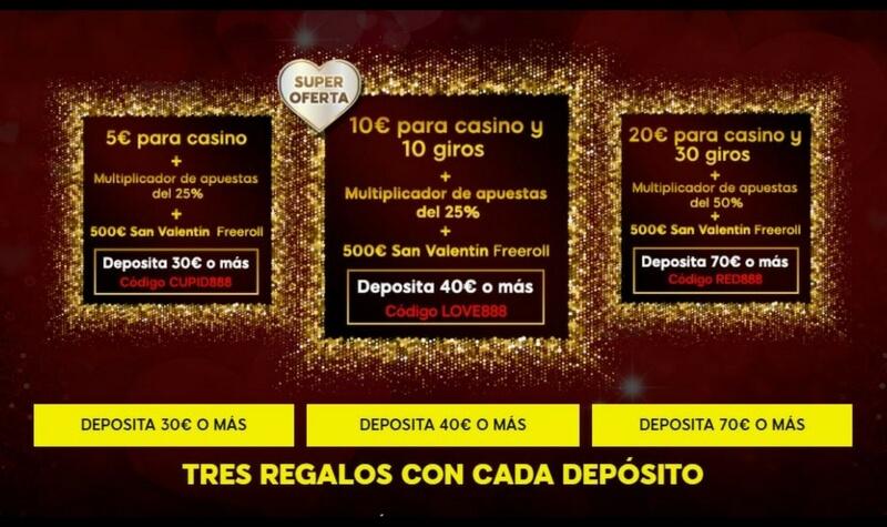 888 casino deposito premio