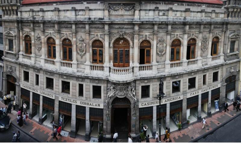 Fachada Casino Español México
