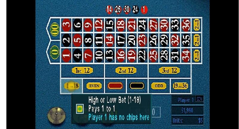 caesars palace II videojuego