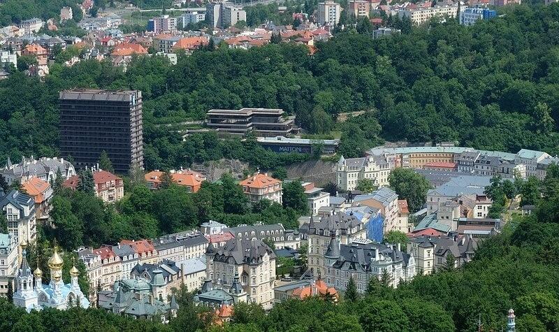 Paisaje de Karlovy Vary - Casino Royale