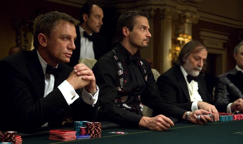 Mesa de poker de Casino Royale