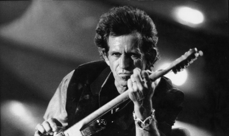 Keith Richards de los Rolling Stones