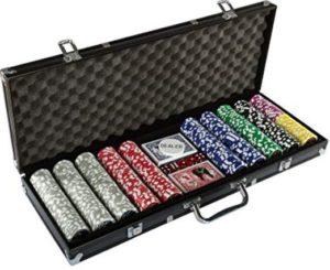 fichas de poker maletin