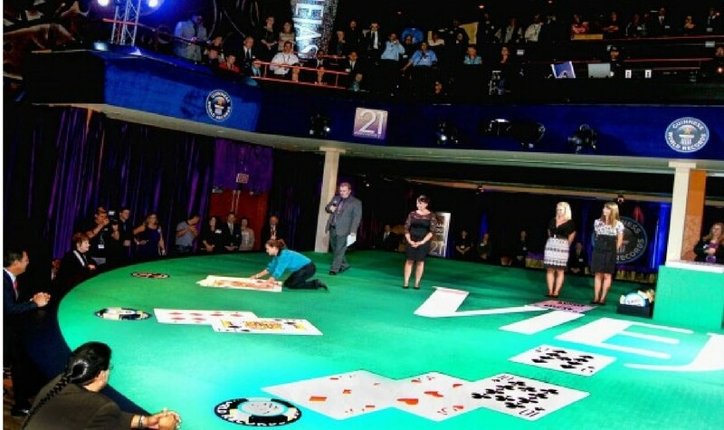mesa blackjack más grande del mundo