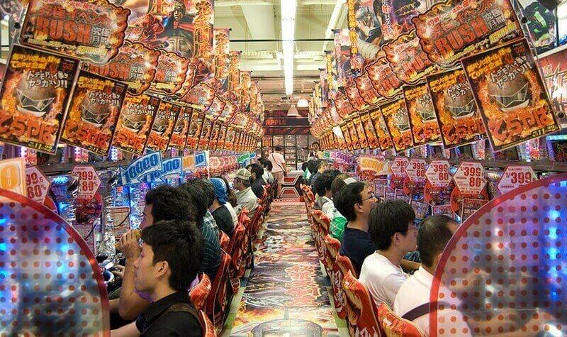Pachinko Las Tragaperras Japonesas Casino Alto
