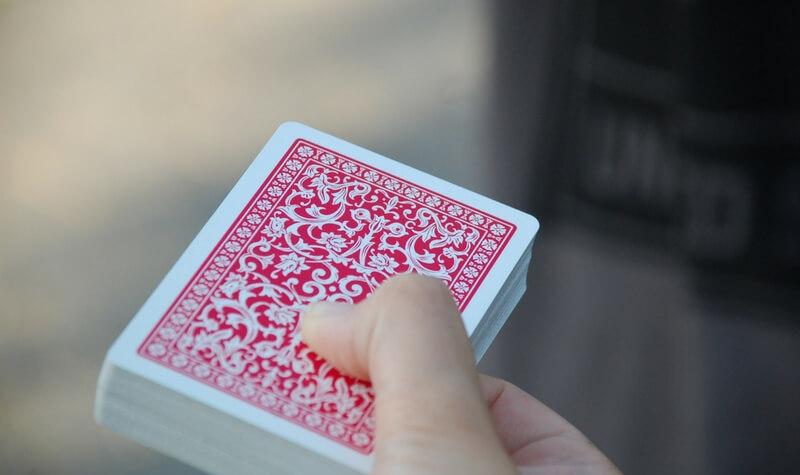 Baraja de cartas de casino