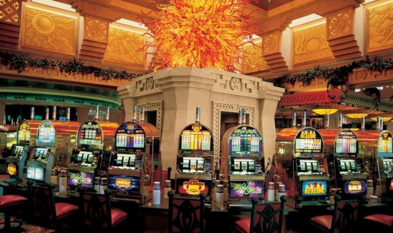 Interior del Atlantis Casino