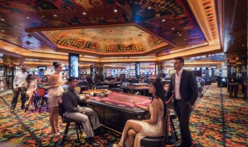 Mesas del Sun City Casino