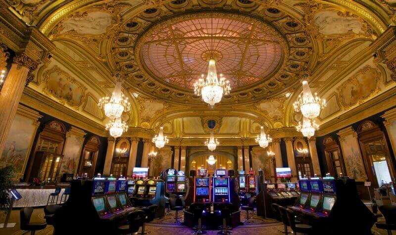 Sala del casino de Montecarlo