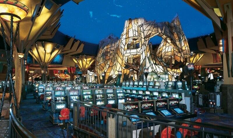 Fachada del Mohegan Sun Casino