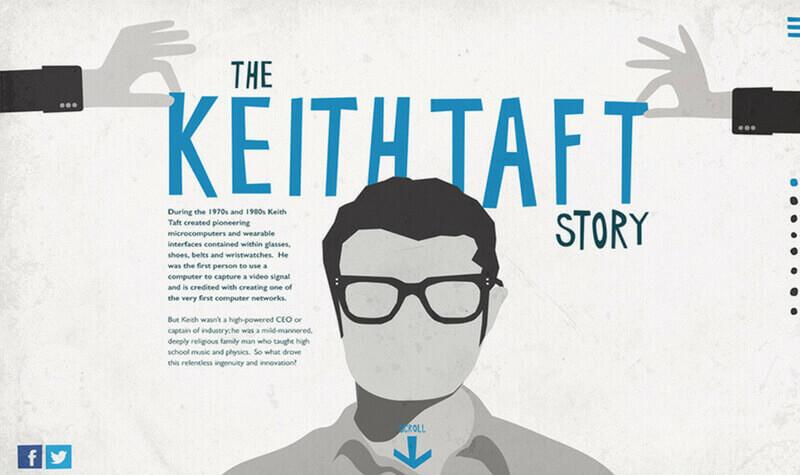 La historia de Keith Taft