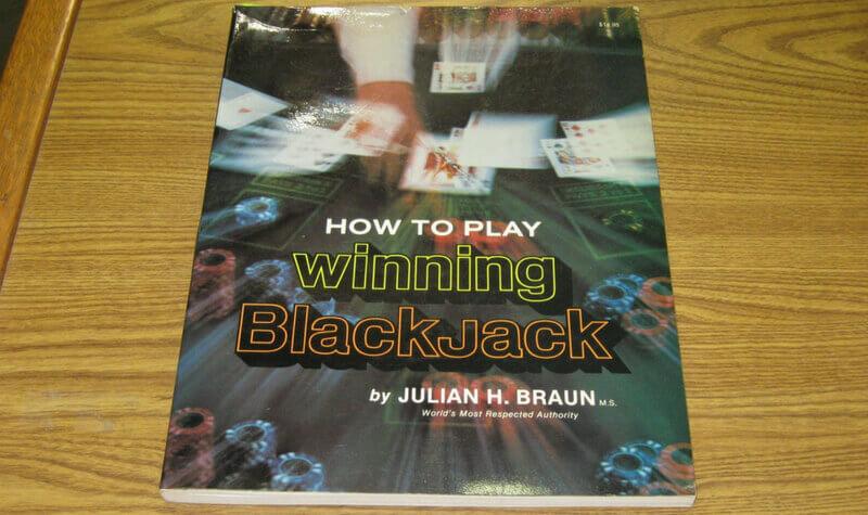 Libro de blackjack de Julian Braun
