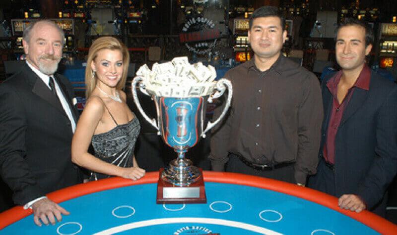Max Rubin en un torneo de casino