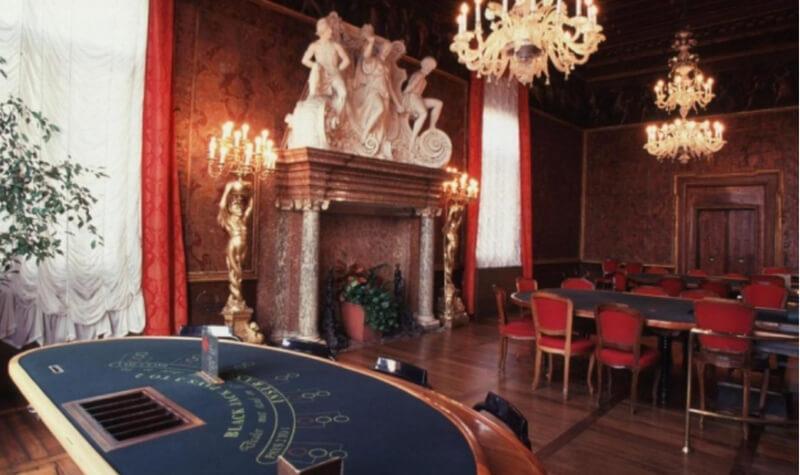 Mesas del Casino de Venecia