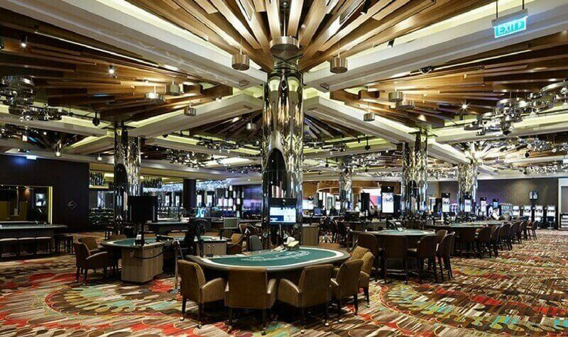 Mesas del Crown Casino