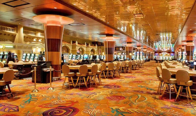 Mesas del Foxwoods Casino