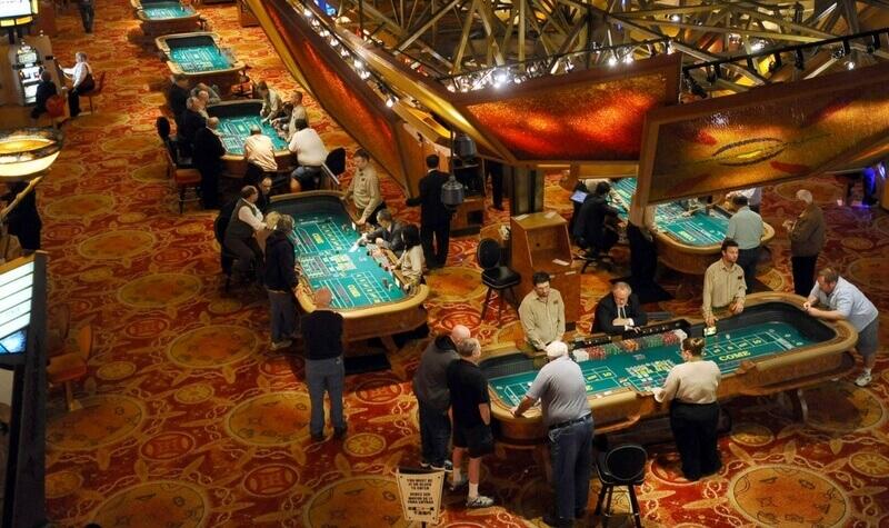 Mesas del Mohegan Sun Casino