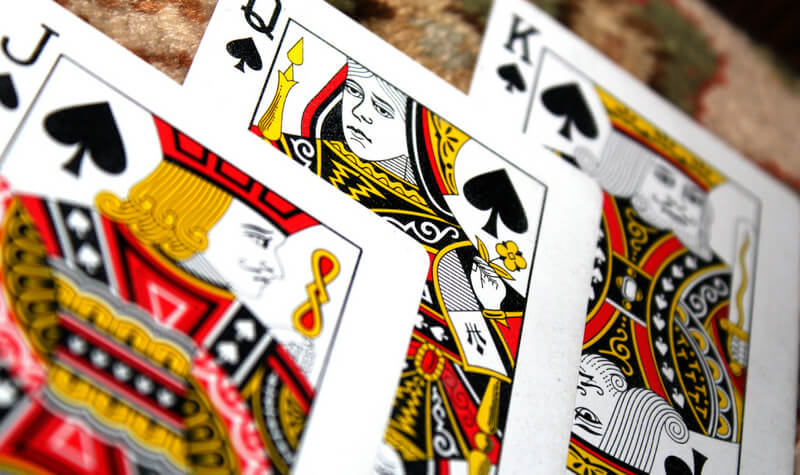 Cartas de blackjack