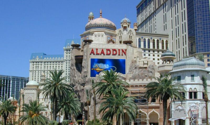 Fachada del Casino Aladdin