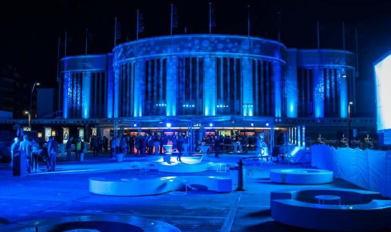 Fachada del Casino Knokke
