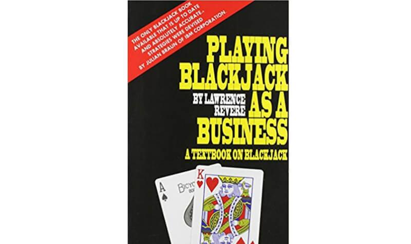 Libro de Lawrence Revere sobre blackjack