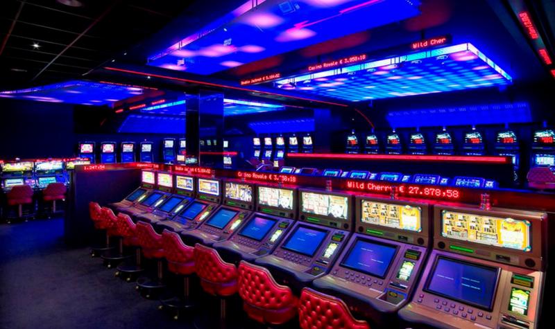 Máquinas del Holland Casino