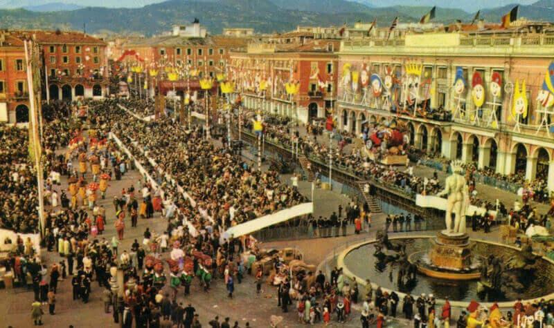 Niza y su casino durante el carnaval