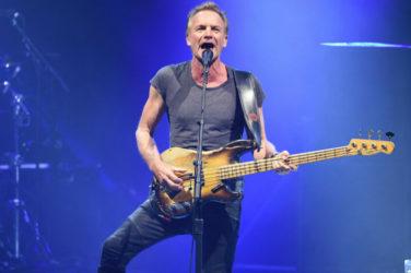 Sting en un concierto