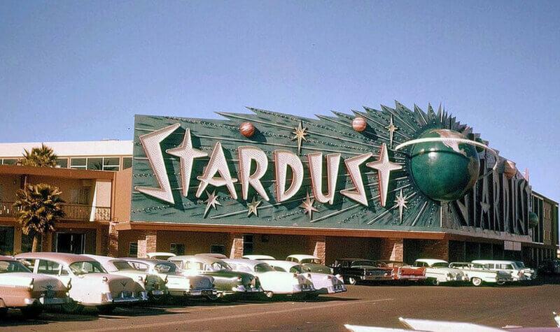 Antigua entrada del Stardust Casino