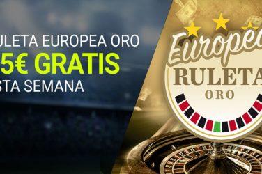 Promoción Ruleta Europea Luckia