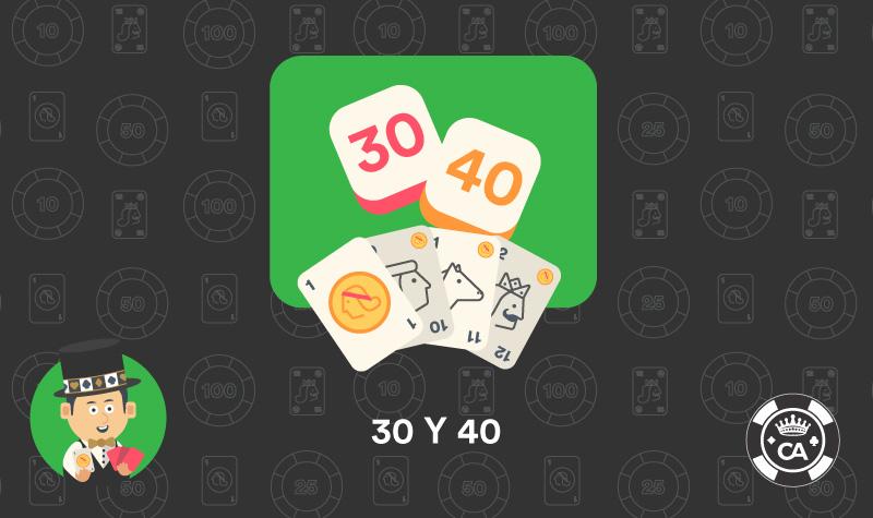 30 y 40 juego