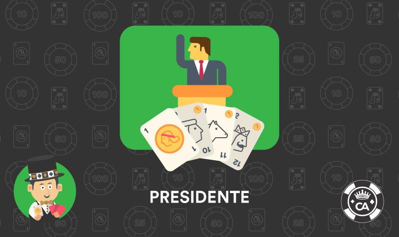 presidente juego