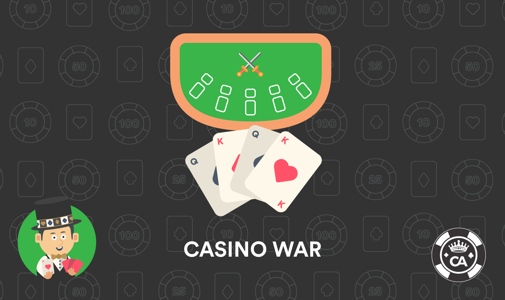 Reglas Casino War