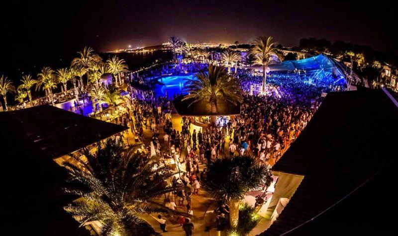 Alrededores del Casino de Ibiza