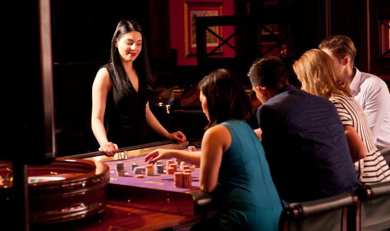 Mesas del Sporting Emporium Casino