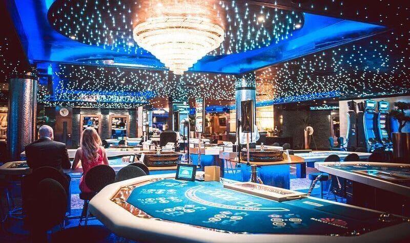 Mesas del Banco Casino