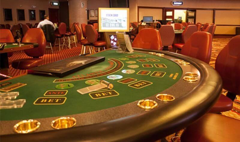 Mesa del Atlantic City Casino