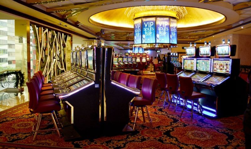 Tragaperras del Atlantic City Casino