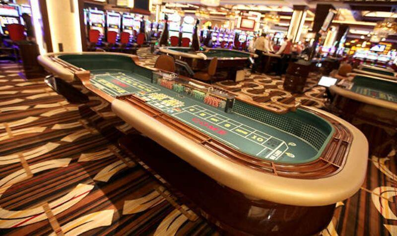 Mesa del Casino Horseshoe