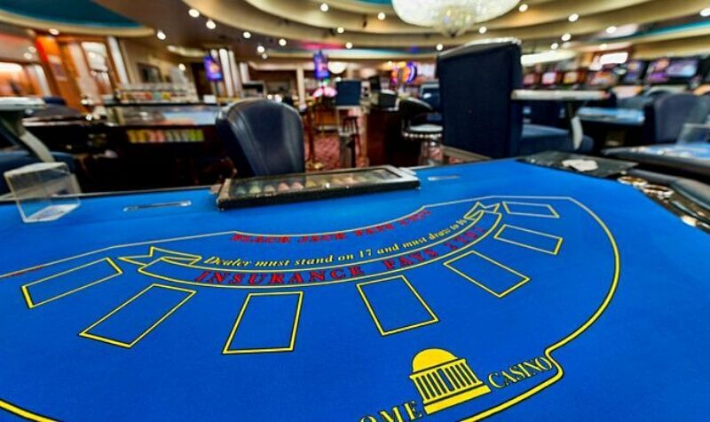 Tablas del Dome Casino