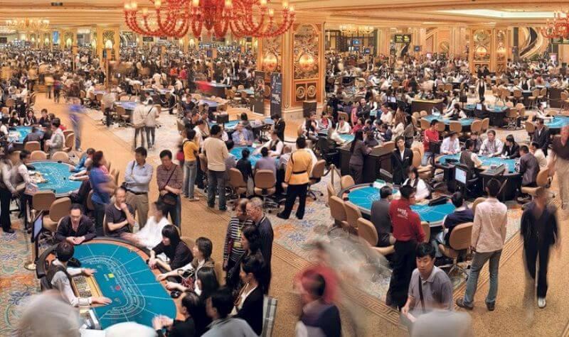 Mesas del The Venetian Casino